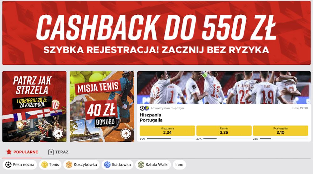 bukmacher betclic polska 2021
